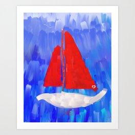 Oceansa Art Print