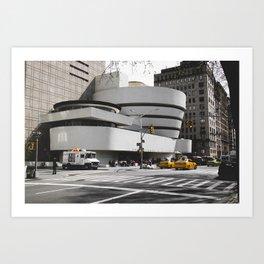 Guggenheim | Frank Gehry | architect Art Print