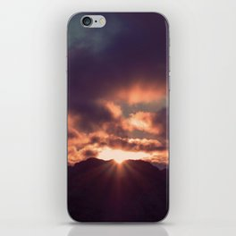 Yesterday Is Gone // Today Is A New Day iPhone Skin