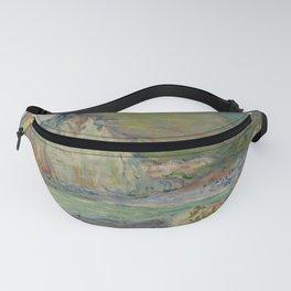 """Claude Monet """"Falaises des Petites-Dalles"""" Fanny Pack"""