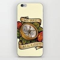 compass iPhone & iPod Skins featuring Compass by hvelge