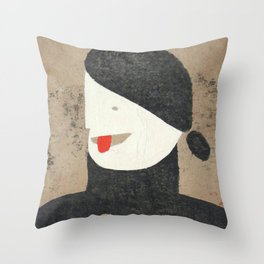 Nervous Nellie Throw Pillow