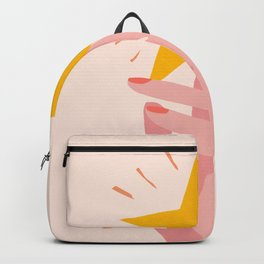 Abstraction_YOU_ARE_A_STAR_Minimalism_001 Backpack