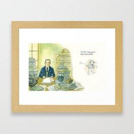 Tolkien Begins A Story Framed Art Print