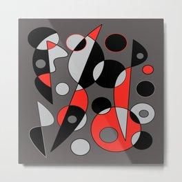 Abstract #792 Metal Print