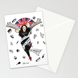 My Mad Fat Diary Oasis Rae Pin-up Stationery Cards