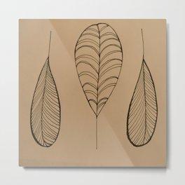 Leafes Metal Print
