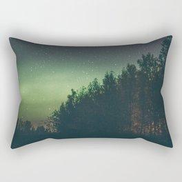 Aurora Borealis I Rectangular Pillow