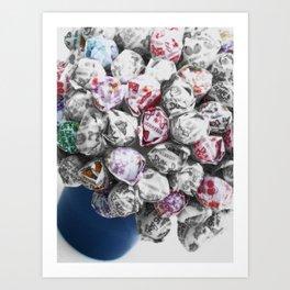 Yummy Dummy Art Print