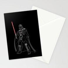 Font vader Stationery Cards