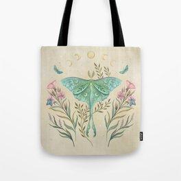 Luna and Forester - Oriental Vintage Tote Bag