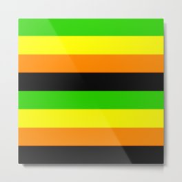 Aromantic Pride Flag v2 Metal Print