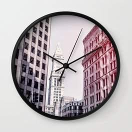 Tower Above Wall Clock