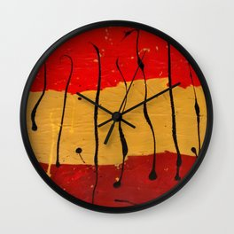 Abstract #16 Wall Clock