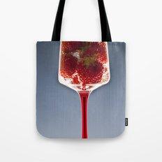 Lemonade Strawberries  Tote Bag