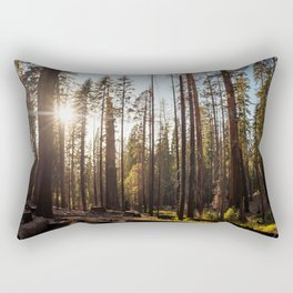 Peeking Sunshine Rectangular Pillow