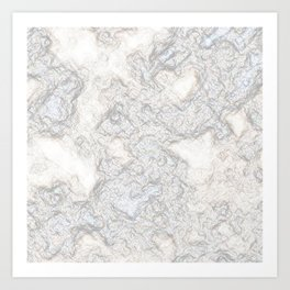 Paper Marble Art Print