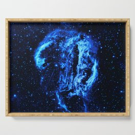 Cygnus Loop Nebula Serving Tray