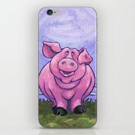 Animal Parade Pig iPhone Skin