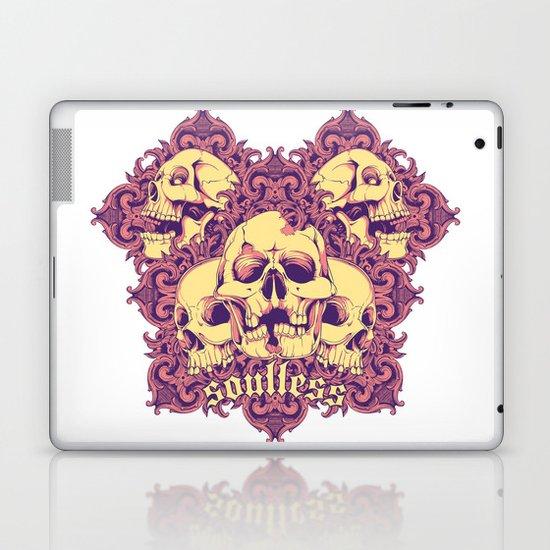 Soulless skulls Laptop & iPad Skin