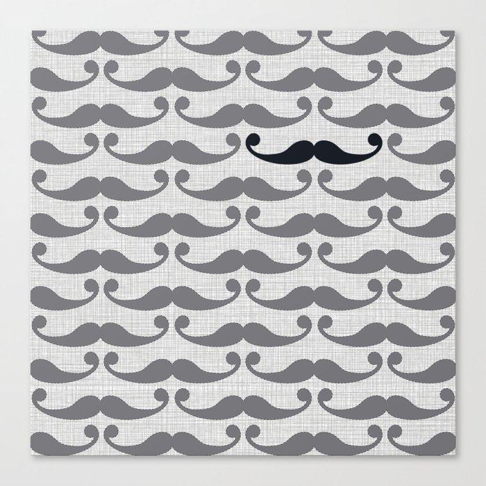 Mustaches Canvas Print