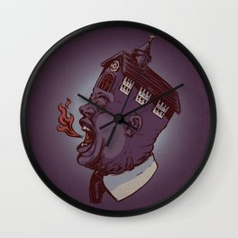 Screaming For Truth Wall Clock