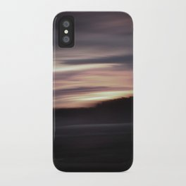 Evening shadows iPhone Case