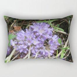 Pacific Northwest Wildflower Rectangular Pillow