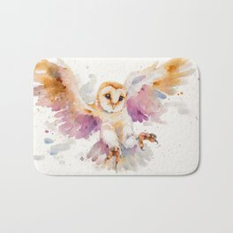 Twilight Owl Bath Mat