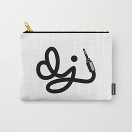 DJ Wire Music Quote Carry-All Pouch