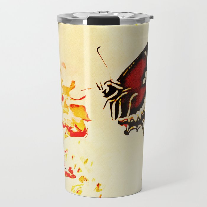 Swallowtail Coming In For A Landing Travel Mug