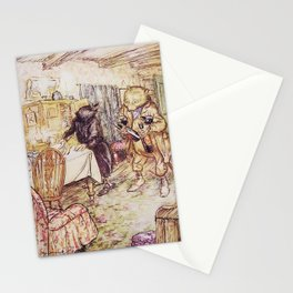 Wind in the willows ratty and mole Stationery Cards