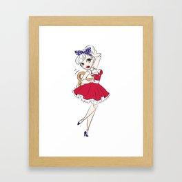 Dancing Doll Framed Art Print