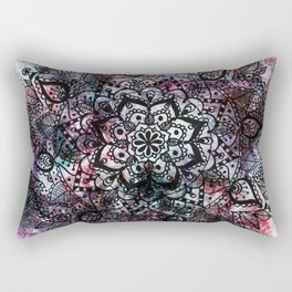Intergalactic Mandala Rectangular Pillow