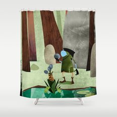 The Potion Maker Shower Curtain