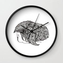 BEAUTIFUL GUINEA PIG Wall Clock