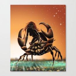 cancer- zodiac Canvas Print