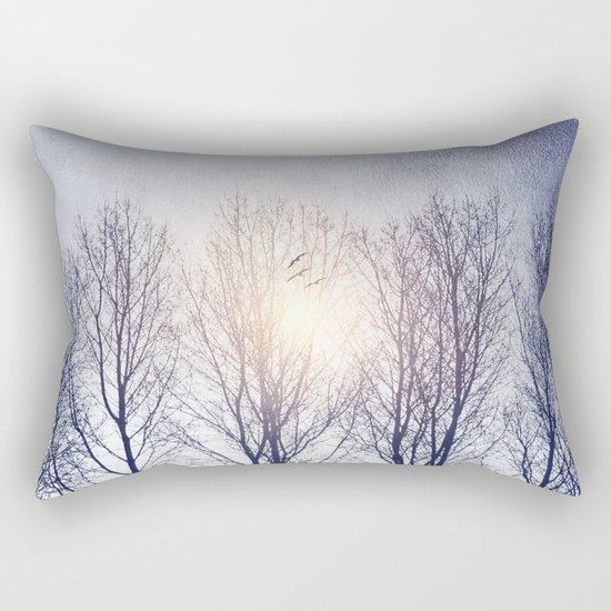 Winter Sequence II Rectangular Pillow