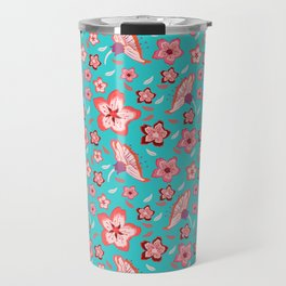 Exotic Flowermix Travel Mug