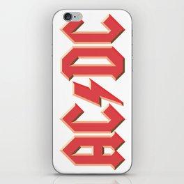 AC-DC iPhone Skin