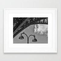 eiffel Framed Art Prints featuring Eiffel by Sébastien BOUVIER