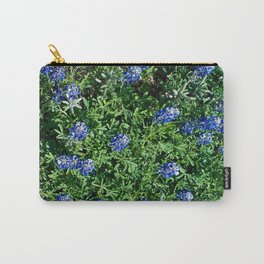 Stepping Out In Blue Carry-All Pouch