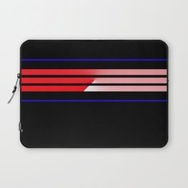 Team Colors 5...Red,blue Laptop Sleeve