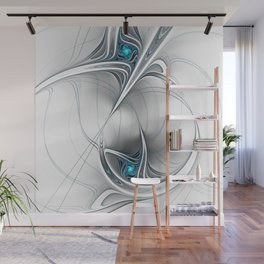 Come Together, Abstract Fractal Art Wall Mural