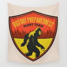 Big Foot Alert Team Wall Tapestry