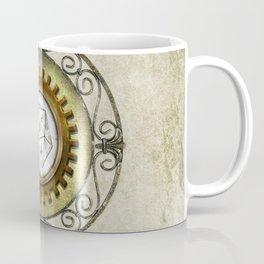 Steampunk D20 Vintage Coffee Mug