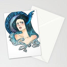 Celestial Blue Stationery Cards