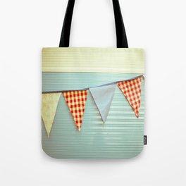 Vintage Caravanning Tote Bag