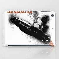 led zeppelin iPad Cases featuring LED GALACTICA by ClevaGurl