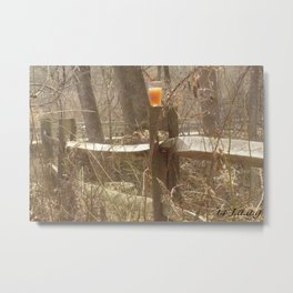 (ps not numbered) tall. yardwork? so drink as you work Metal Print